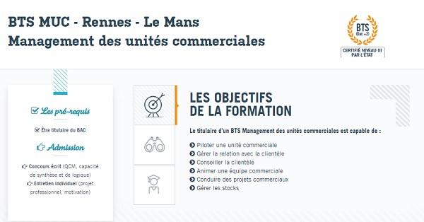 BAC +2 MUC Rennes