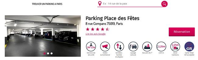 parking paris 2eme arrondissement