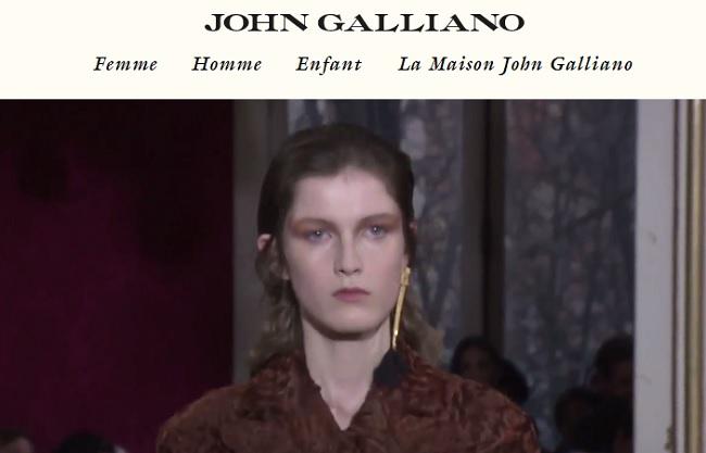 veste homme john galliano