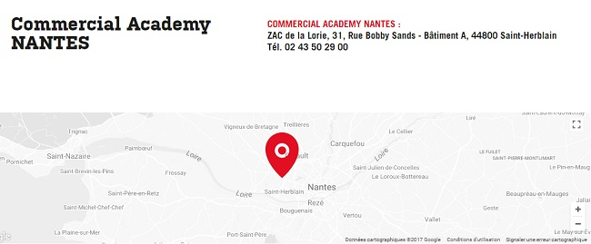 centre de formation commerciale nantes