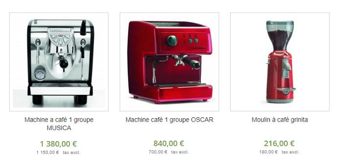 machine à café restaurant pas cher